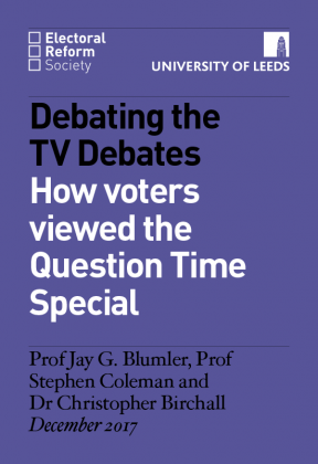 How voters viewed the Question Time Special