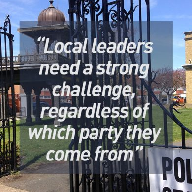 Local leaders need a strong challenge, regardless of which party they come from