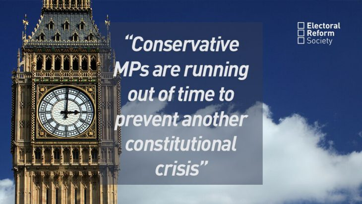 Conservative MPs are running out of time to prevent another crisis
