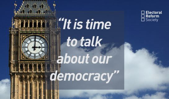 It is time to talk about our democracy