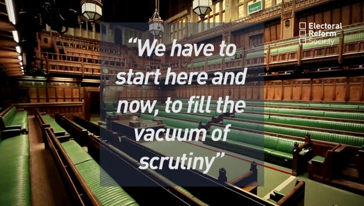 We have to start here and now, to fill the vacuum of scrutiny