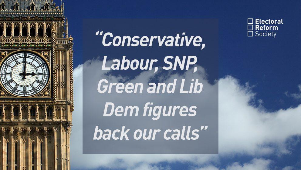 Conservative, Labour, SNP, Green and Lib Dem figures back our calls