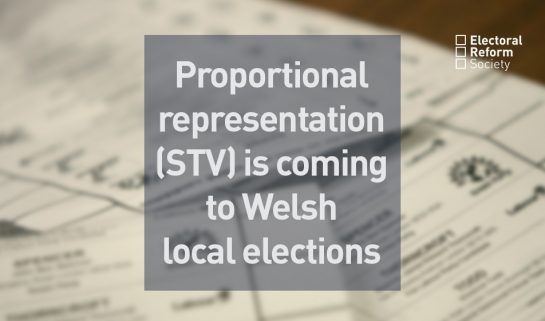 PR is coming to welsh local elections