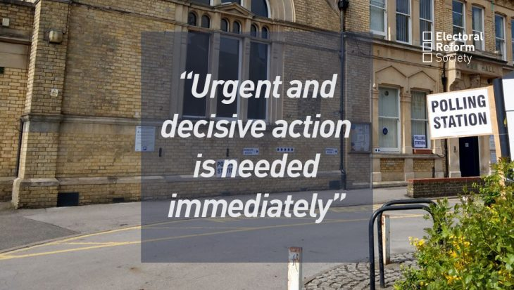 Urgent and decisive action is needed immediately