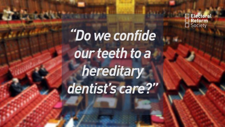 Do we confide our teeth to a hereditary dentists care