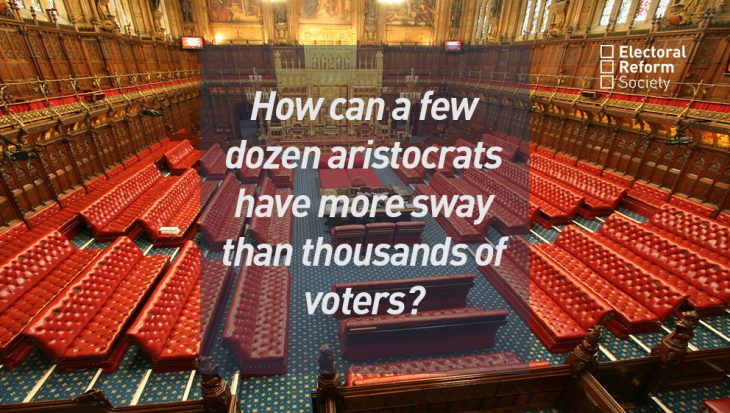 How can a few dozen aristocrats have more sway than thousands of voters