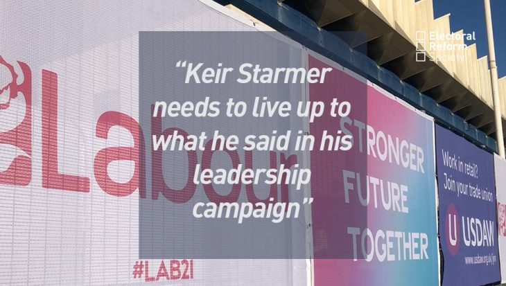 Keir Starmer needs to live up towhat he said in his leadership campaign